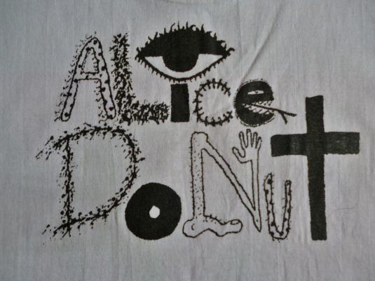 VINTAGE ALICE DONUT T-SHIRT