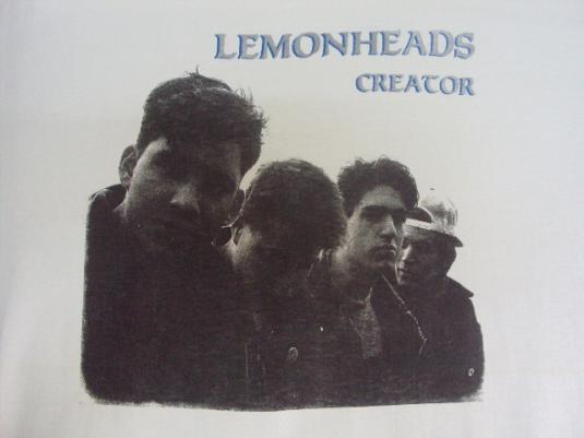 VINTAGE LEMONHEADS 1988 CREATOR