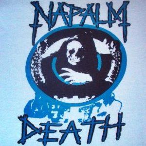 VINTAGE RARE 1987 NAPALM DEATH PROMO