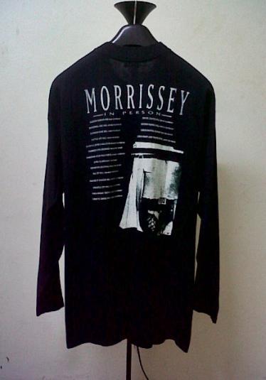 VINTAGE 90S MORRISSEY BOXERS TOUR T-SHIRT