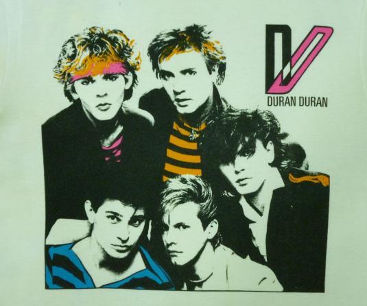 VINTAGE 80S DURAN DURAN T-SHIRT