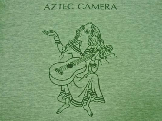 EARLY 80S VINTAGE AZTEC CAMERA UK TOUR T-SHIRT