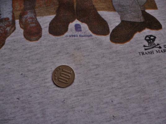 VINTAGE 1993 NOFX SOUL DOUBT TOUR T-SHIRT