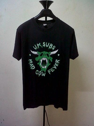 VINTAGE 1990 UK SUBS T-SHIRT
