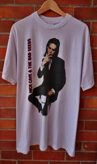 VINTAGE 1992 NICK CAVE & THE BAD SEEDS EUROPE TOUR T-SHIRT