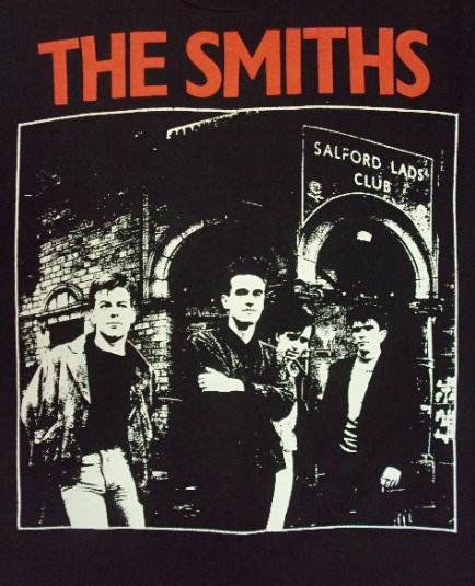 VINTAGE 80'S THE SMITHS T-SHIRT