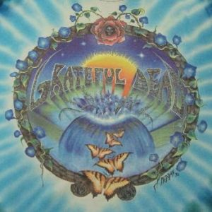 VINTAGE 92 THE GRATEFUL DEAD TOUR T-SHIRT