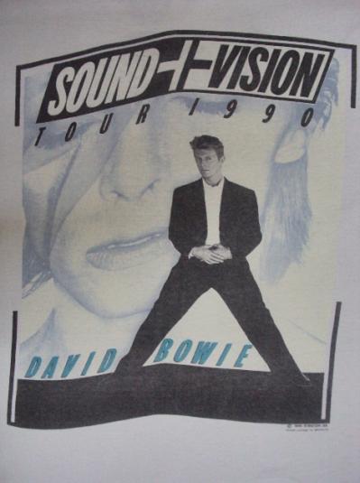 VINTAGE 1990 DAVID BOWIE T-SHIRT