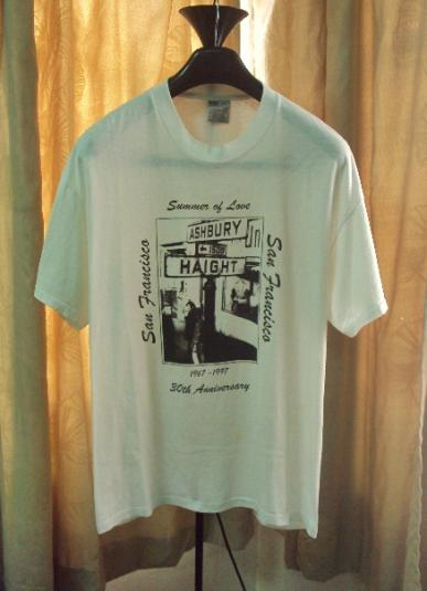 VINTAGE ASHBURY HAIGHT PSYCHEDELIC T SHIRT