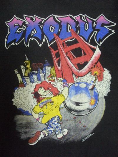 VINTAGE 1990 EXODUS T-SHIRT