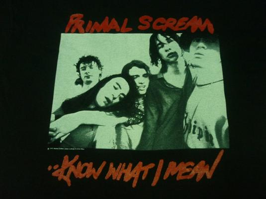 VINTAGE 1994 PRIMAL SCREAM T-SHIRT