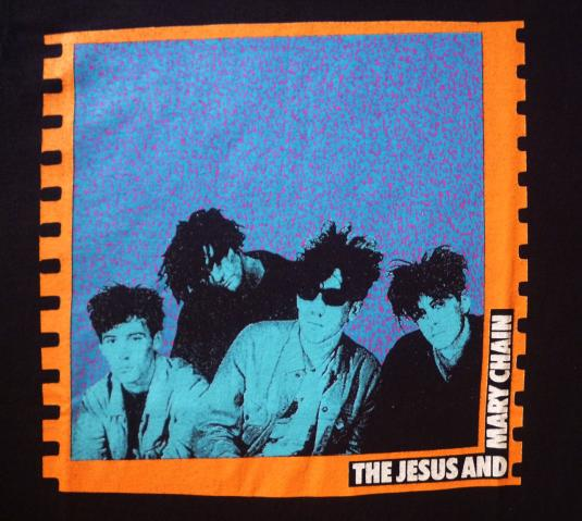 VINTAGE 80S THE JESUS AND THE MARY CHAIN T-SHIRT