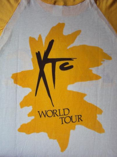 Vintage 1980 XTC T-Shirt