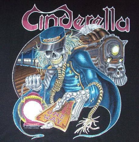 VINTAGE 1990 CINDERELLA T-SHIRT