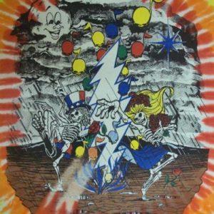 VINTAGE 1992 THE GRATEFUL DEAD TIE DYE T-SHIRT