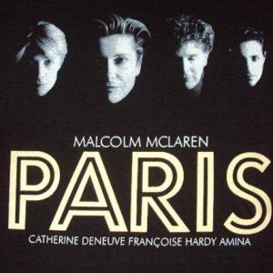 Vintage 1994 MALCOM MCLAREN PARIS T-SHIRT