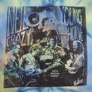VINTAGE NEIL YOUNG & THE CRAZYHORSE