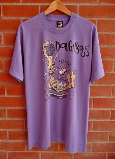 Vintage 1990-91 DOUGHBOYS Happy Accidents T-Shirt