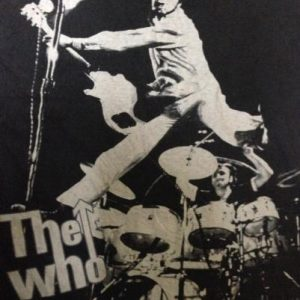 The WHO band T shirt