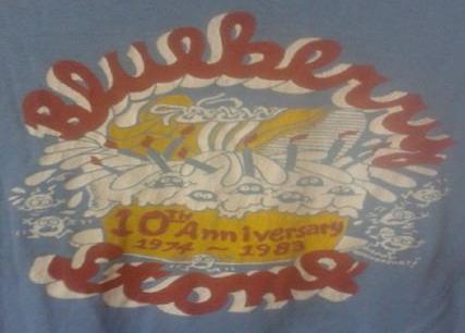 BLUEBERRY STOMP 10TH ANNIVERSARY 1974-1983