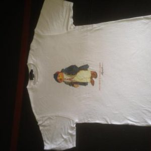 Vintage T-Shirt Polo Bear By Ralph Lauren