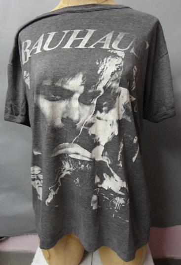 BAUHAUS Vintage 1993 Grey Medium to Large Silkscreen Tshirt