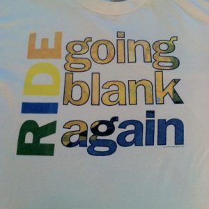 Ride - Going Blank Again