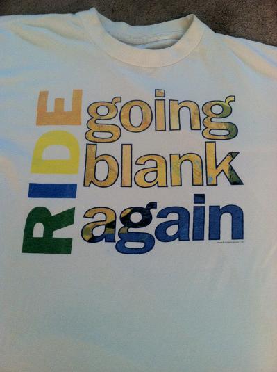 Ride – Going Blank Again