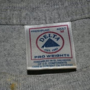 Vintage 90s SHUTDOWN Against All Odds Tour Concert T-shirt
