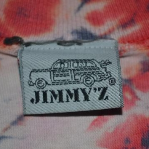 Vintage JIMMY'Z Skateboard Seek and Destroy 90s T-shirt