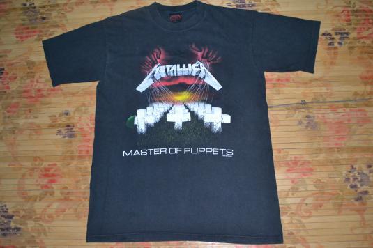 Vintage 1987 METALLICA Master of Puppets promo T-shirt