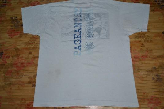 VINTAGE 1985 R.E.M. PAGEANTRY TOUR PROMO T-SHIRT
