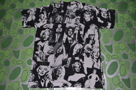 Vintage early 90s MARILYN MONROE full print Tour Concert Tee