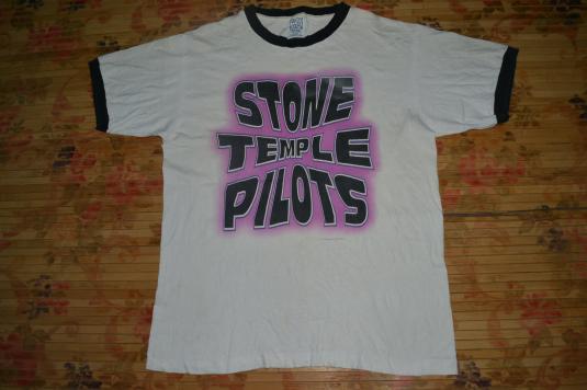 Vintage 1996 STONE TEMPLE PILOT North American Tour T-shirt