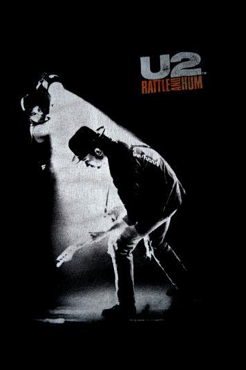 Vintage 1988 U2 Rattle and Hum promo T-shirt