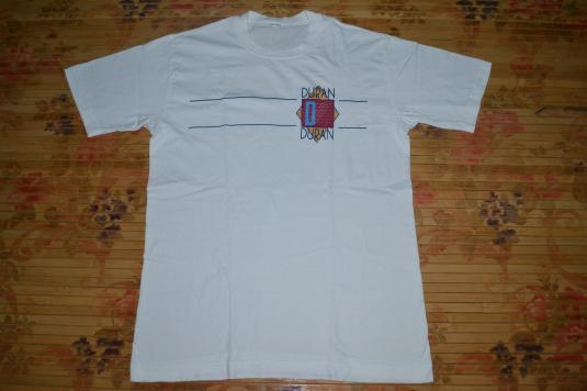 Vintage 80s DURAN DURAN Seven and the Ragged Tiger promo T-s