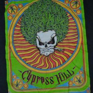 Vintage 1993 CYPRESS HILL Pot Head Promo Album T-shirt