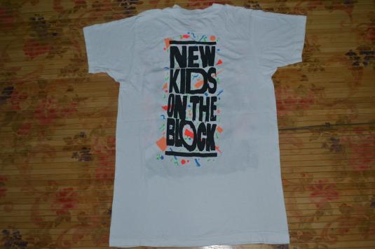 VINTAGE 1988 NEW KIDS ON THE BLOCK NKOTB PROMO ALBUM T-SHIRT