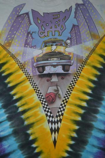 Vintage GRATEFUL DEAD New York City Tour Concert 1990 Tshirt