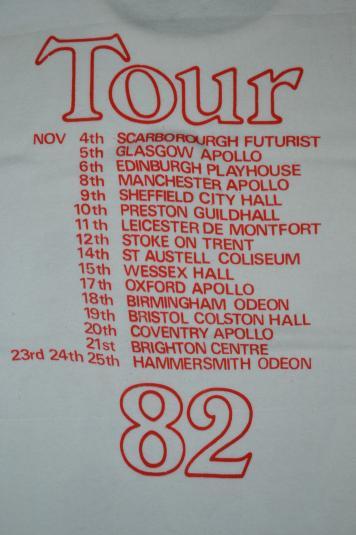 Vintage 1982 ABC Tour Concert Promo New Wave t-shirt