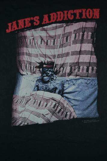 Vintage 1990 JANE'S ADDICTION Article 1 Tour Concert T-shirt
