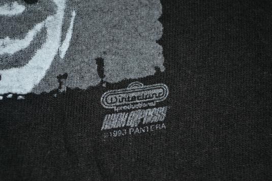 Vintage 90s PANTERA Vulgar Display of Power Promo Tshirt