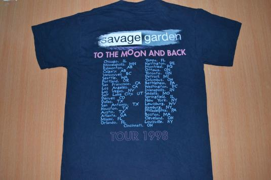 Vintage 90s SAVAGE GARDEN Truly Madly Tour T-shirt