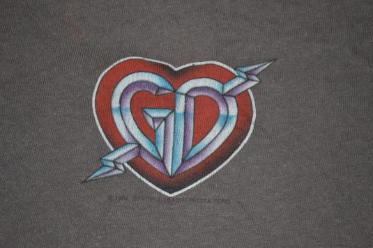 Vintage GRATEFUL DEAD Spring Tour Concert 1986 T-shirt