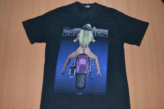 Vintage 90s EASYRIDERS Black Hills Motorcycle T-shirt