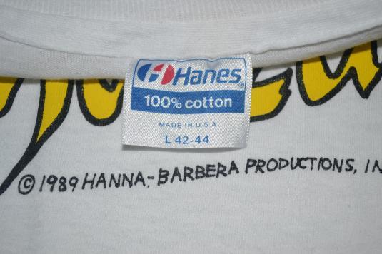 Vintage SHAZZAN Hanna Barbera Production 1989 T-shirt