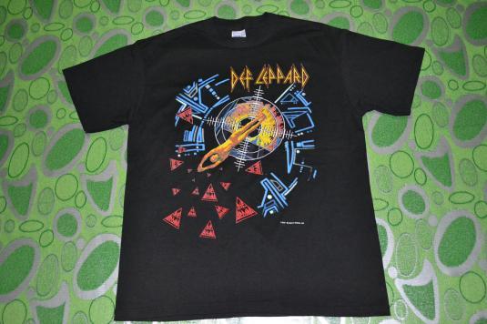 Vintage DEF LEPPARD Hysteria Tour 1987 T-shirt