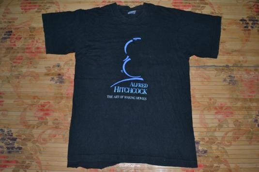 Vintage ALFRED HITCHCOCK The Art of Making Movies T-shirt