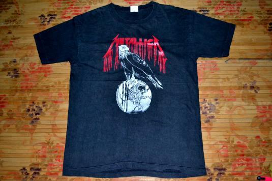 Vintage 90s METALLICA World Tour promo T-shirt