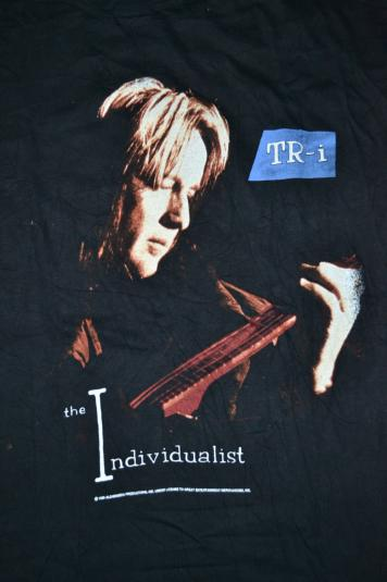 Vintage TODD RUNDGREN TR-i The Individualist Utopia T-shirt